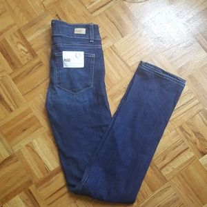 New Paige Hidden Hills straight high-rise jeans 27